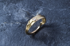 Feather Ring With Diamond(S) K...